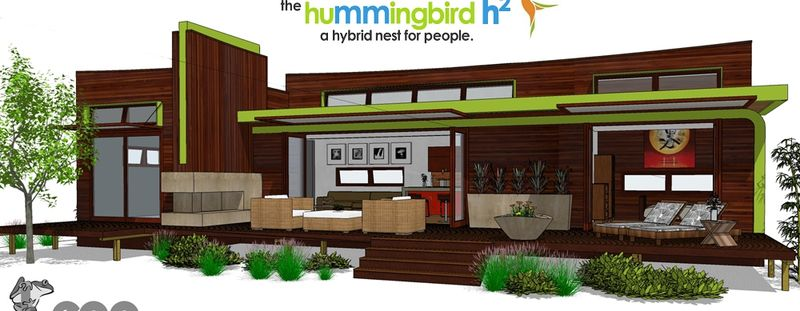 Contemporary green home plans